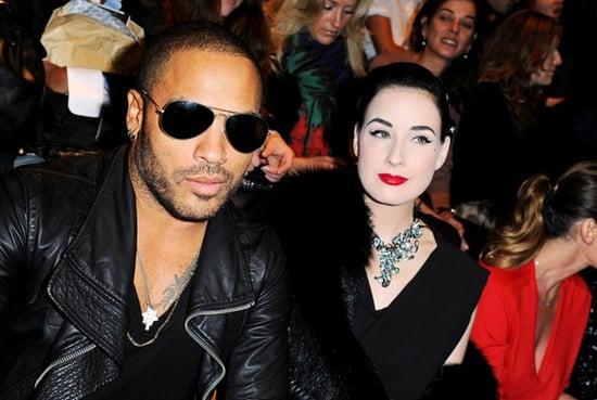 Dita Von Teese attends the Lanvin Ready to Wear Spring/Summer 2011 show during Paris Fashion Week