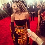 Our jaws dropped when we saw Beyoncé hit the red carpet in this Givenchy creation. Source: Instagram user modaoperandi