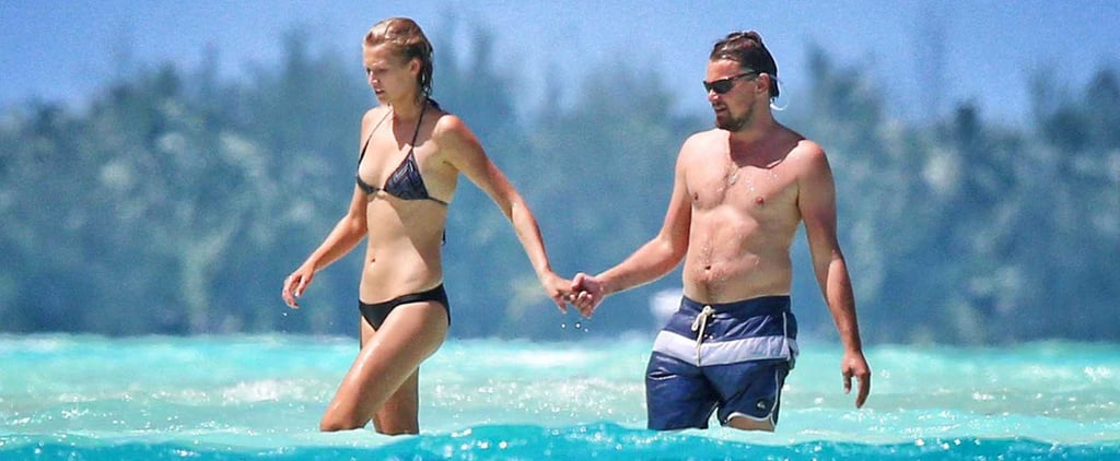 Leonardo DiCaprio Shirtless on Vacation With Toni Garrn