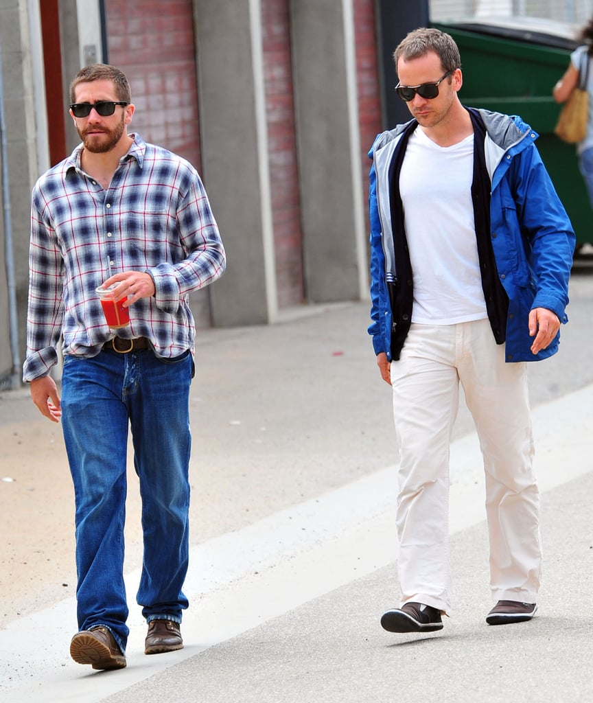 Jake Gyllenhaal Has a Brotherly LA Lunch With Peter Sarsgaard
