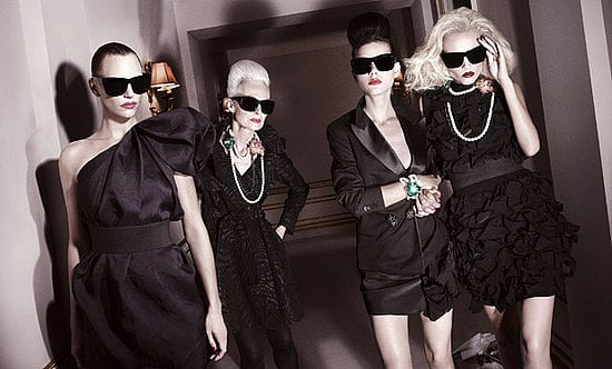 Photos of Lanvin for H&M Ad Campaign for Autumn Winter 2010