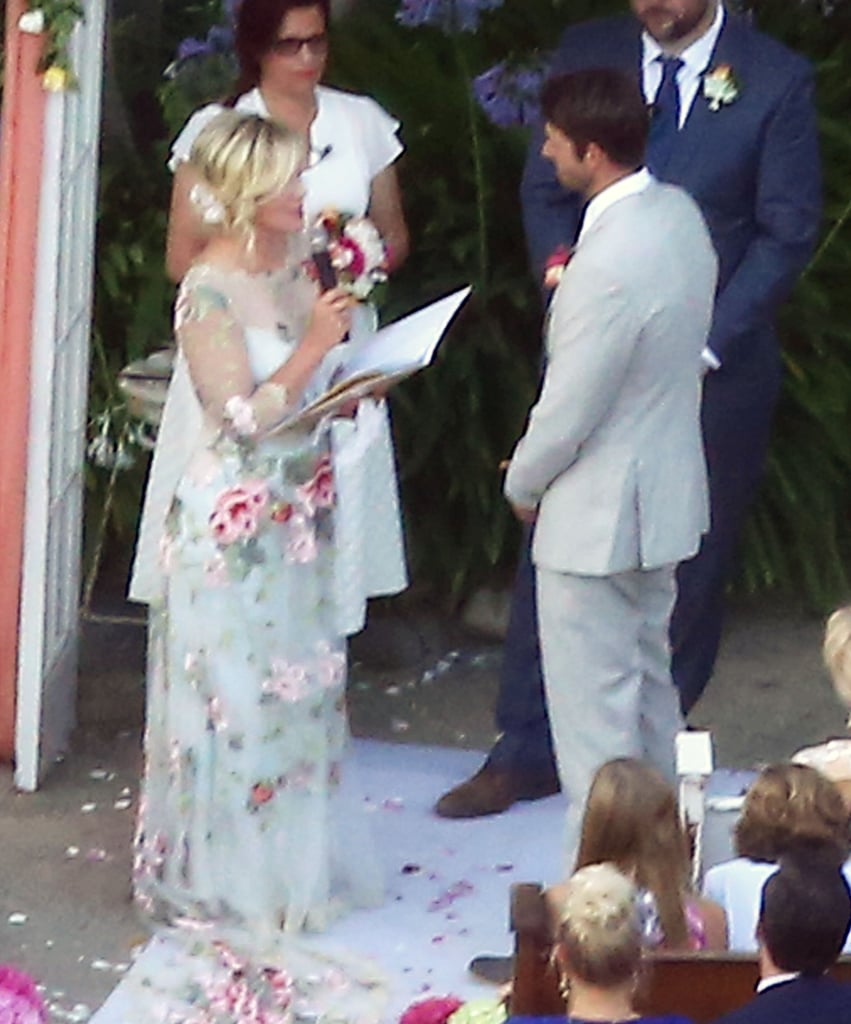 Jennie Garth And Dave Abrams Celebrity Wedding Pictures 2015
