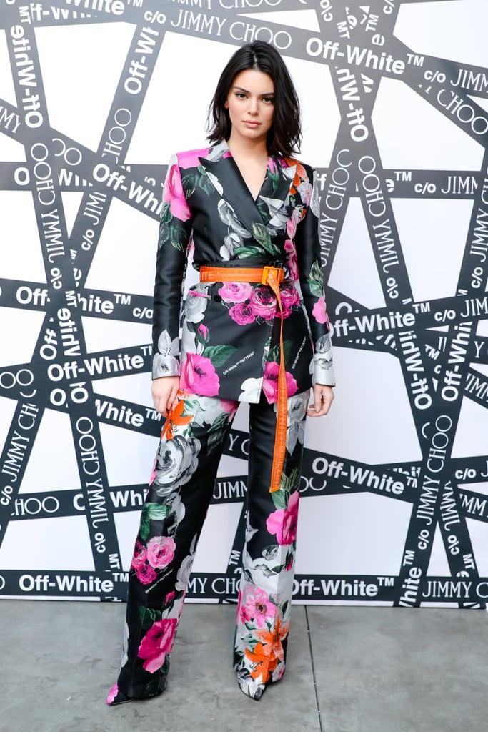 Kendall Jenner at Fashion Week Fall 2018