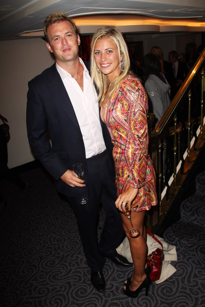 Freddie Andrews and Holly Branson