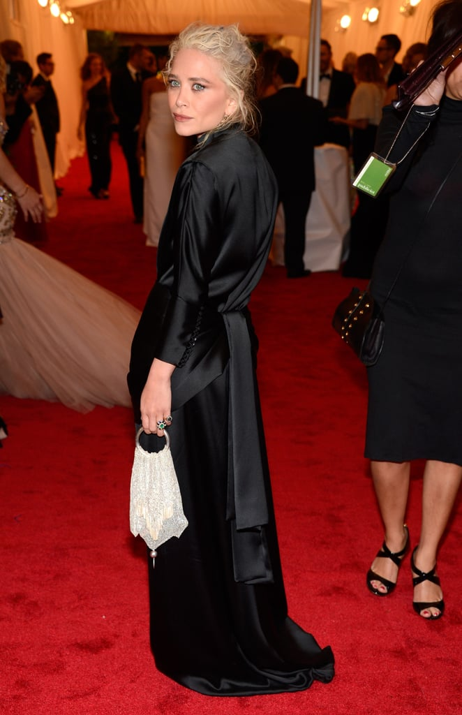 Mary-Kate Olsen wore a black gown by The Row.