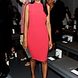 Minimalism at its best: Kerry Washington channeling the label's aesthetic at Calvin Klein.