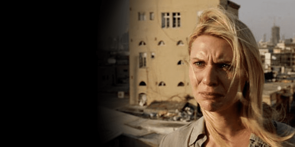 Claire Danes in Homeland Premiere | Video