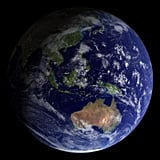 Take a look at Sydney, Australia, as its side of the Earth looked in 2002.