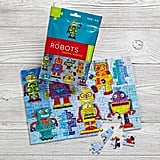 On the Go Robot Travel Puzzle