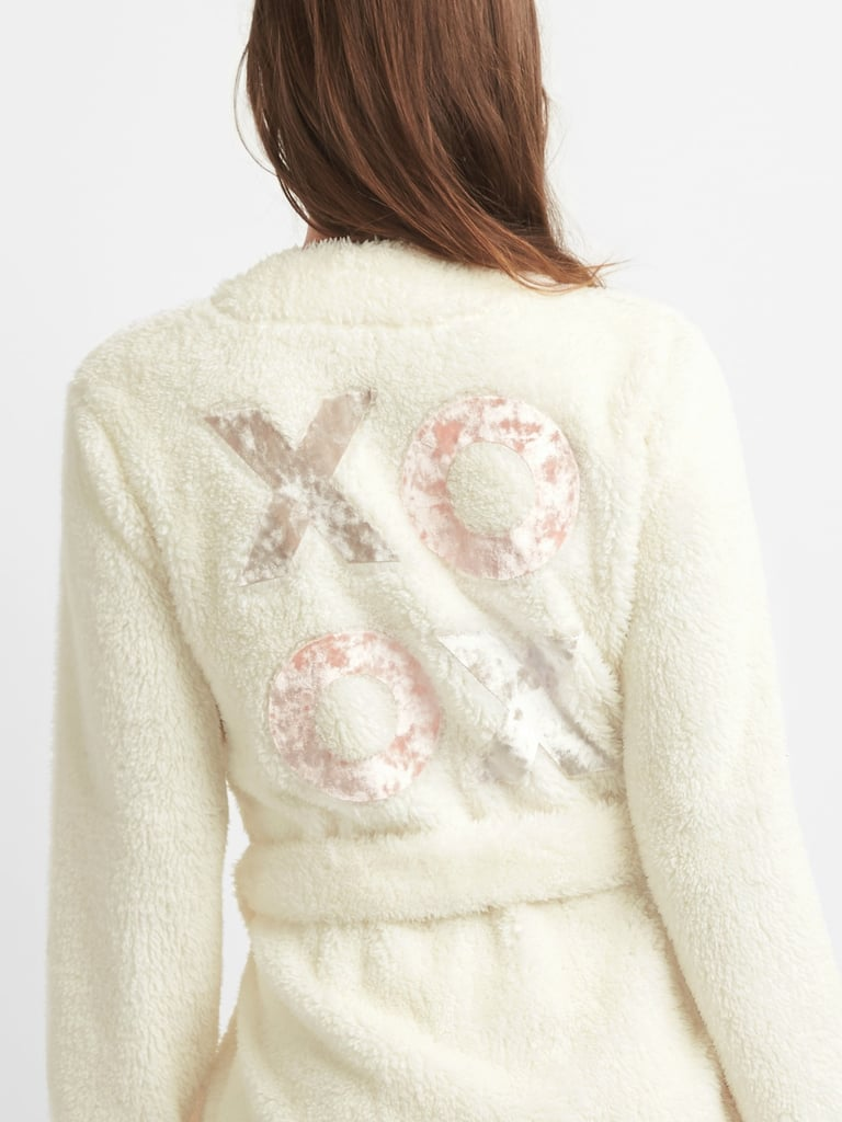 Gap XOXO Sherpa Robe