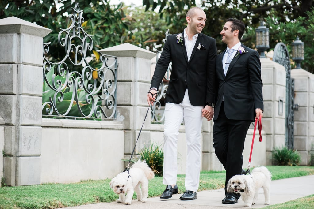 Ring Bearer Puppies and a Stunning Chandelier Make This Sweet Wedding Stand Out