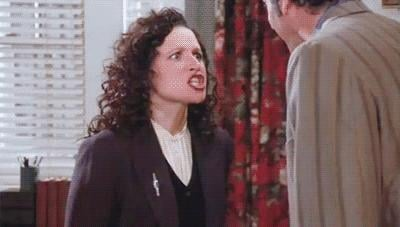 Then When Elaine Tells Kramer to GET OUT
