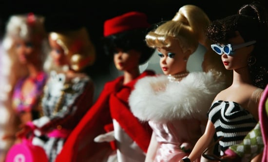 Christian Louboutin Designs Barbie Shoes