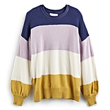 POPSUGAR at Kohl's Collection Balloon-Sleeve Sweater