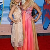 Nicole Richie and Paris Hilton were still best friends.