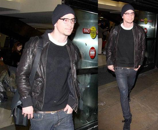 Photos of Josh Hartnett Arriving at LAX