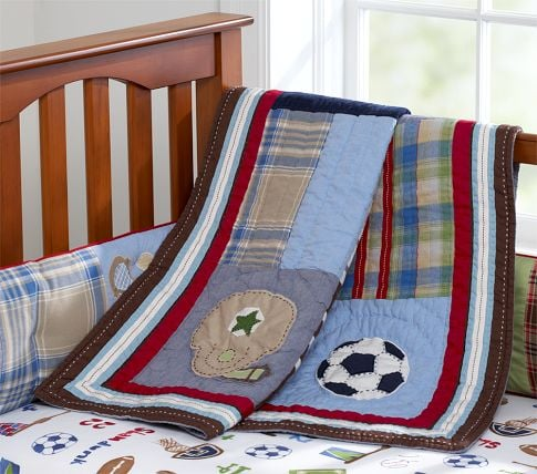 Junior Varsity Nursery Bedding ($19-$99)