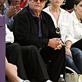 Celebs at the Lakers Game