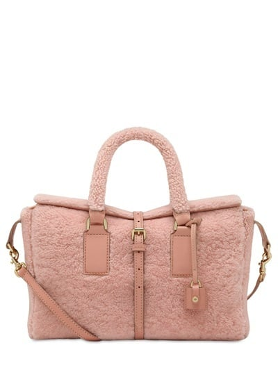 Mulberry Small Roxette Shearling Top Handle (£1,350)
