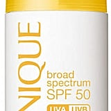 Clinique Broad Spectrum SPF 50 Mineral Sunscreen Fluid for Face ($26) is another recommendation from Dr. Wechsler.  Both titanium dioxide and zinc oxide are active ingredients.