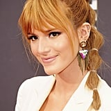 Bella Thorne With Sunset Orange Hair
