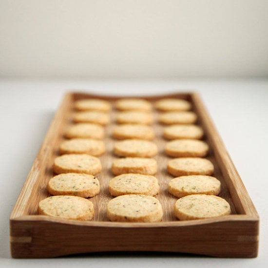 Parmesan, Black Pepper, and Thyme Savory Shortbread
