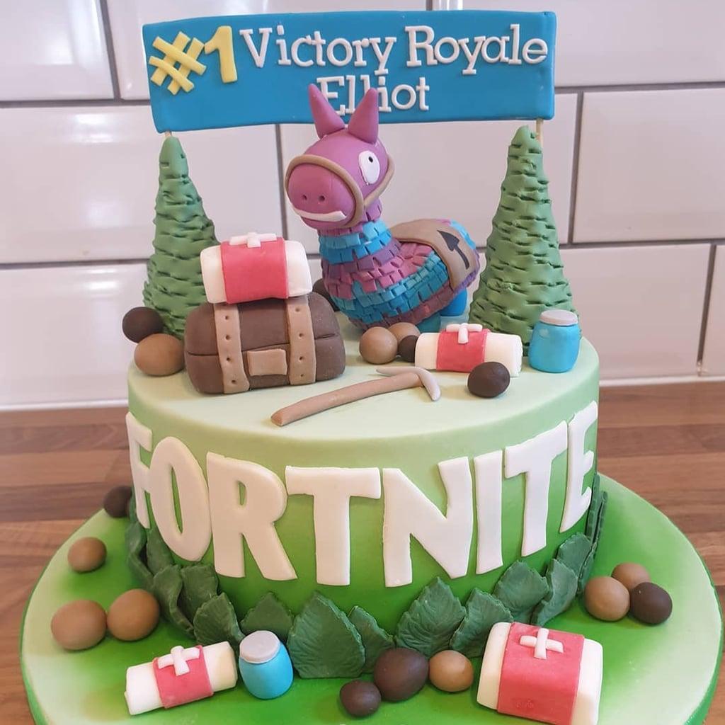 Fortnite Birthday Cakes Popsugar Family