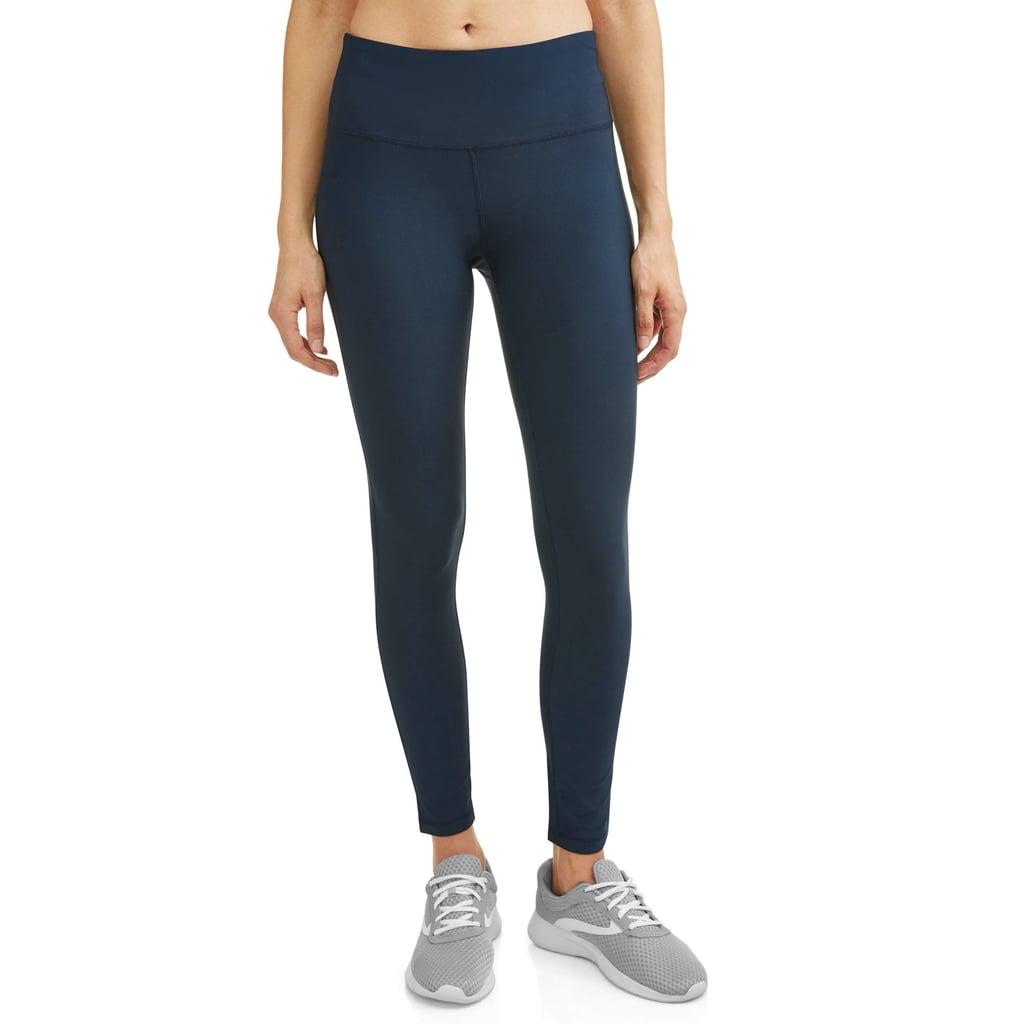 33bb16a69239f N.Y.L. Sport Active High Waist Tummy Control Performance Ankle Leggings