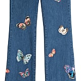 Valentino Flared Jeans With Butterfly Patchwork ($3,590)