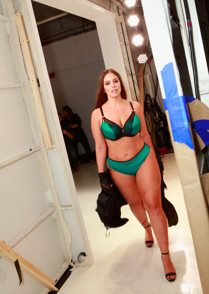 Ashley Graham at Fashion Week Spring 2018