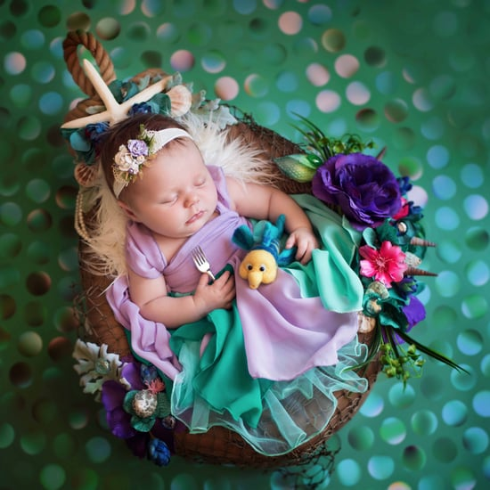 Photo Shoot of Babies as Disney Princesses