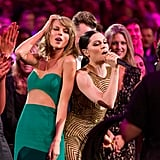Taylor Swift sang along to Jessie J's performance in 2014.