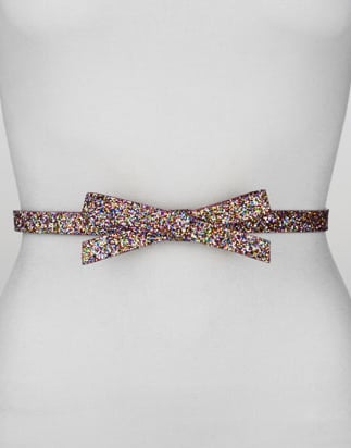 Could it get any cuter than this Kate Spade New York glittery multicolored bow belt ($73, originally $98)? We think not. It also comes in black-and-gold glitter if you prefer something more subdued.