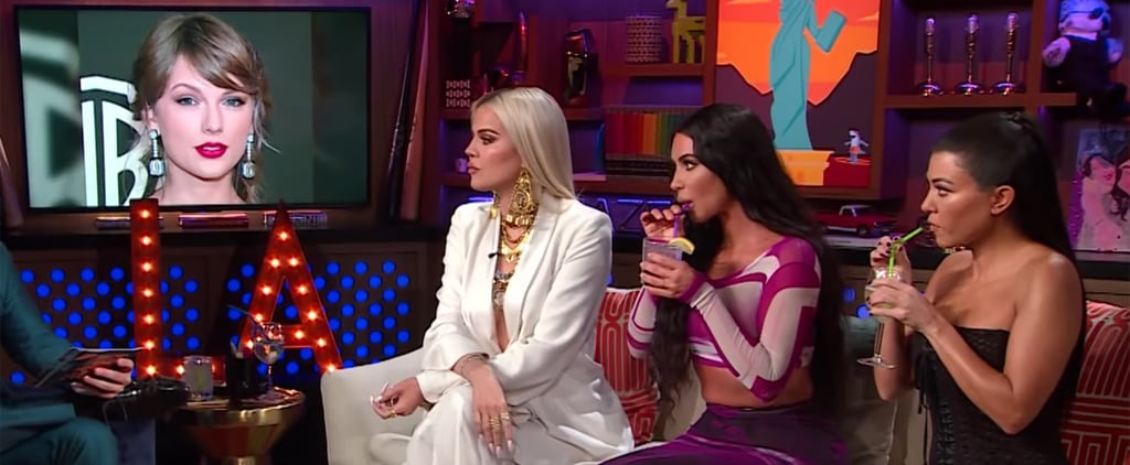 Kim Kardashian Addresses Taylor Swift Feud on WWHL 2019