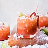 Rhubarb Passion Margarita