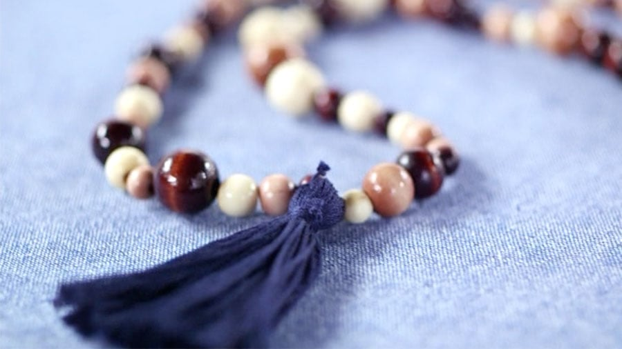 DIY: A Beaded Tassel Necklace to Give You a Tribal Touch
