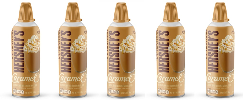 Hershey's Caramel-Flavored Whipped Cream