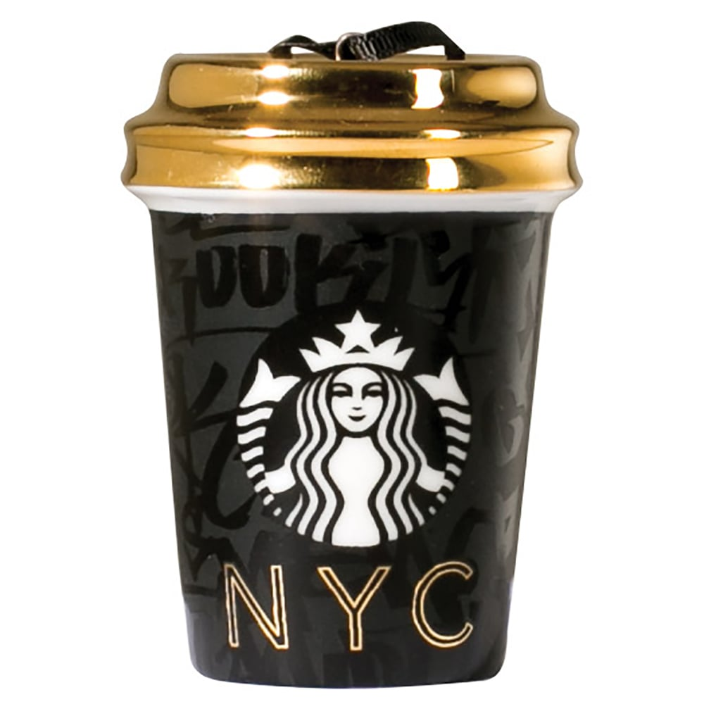 Starbucks Local City Collection — New York City Ornament ($8) | The ...