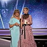 Goldie Hawn and Kate Hudson at the 2018 SAG Awards