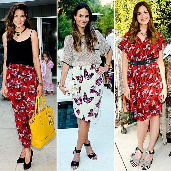Mandy Moore at Dannijo and Tucker Party