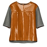 Leather Top, $149