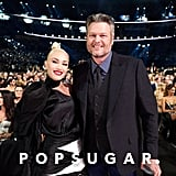 Gwen Stefani and Blake Shelton at the 2019 CMA Awards