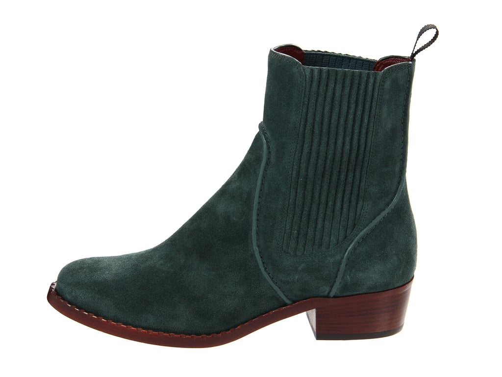 Try this casual take on the Chelsea boot with a lusher emerald-tone finish, courtesy of Marc by Marc Jacobs 35mm iteration ($195, originally $395).