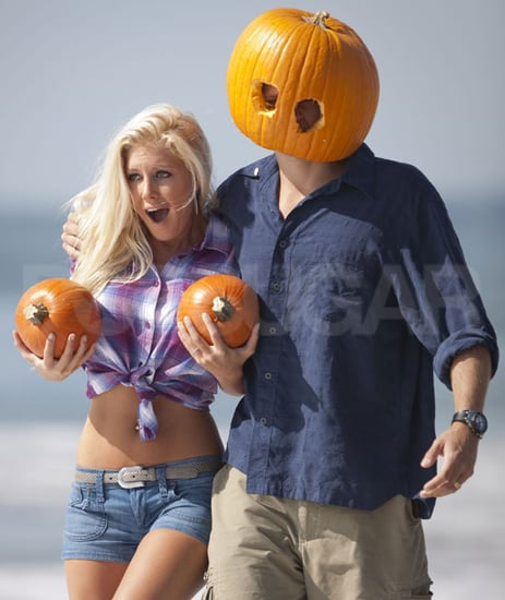 Pictures of Heidi Montag and Spencer Pratt Posing For Halloween