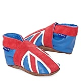Inch Blue Union Jack Booties ($30)