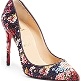 Our Pick: Christian Louboutin Floral Pumps
