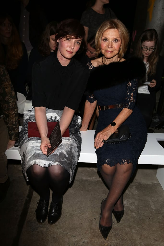 Sarah Blasko and Carla Zampatti at MBFWA Day Four