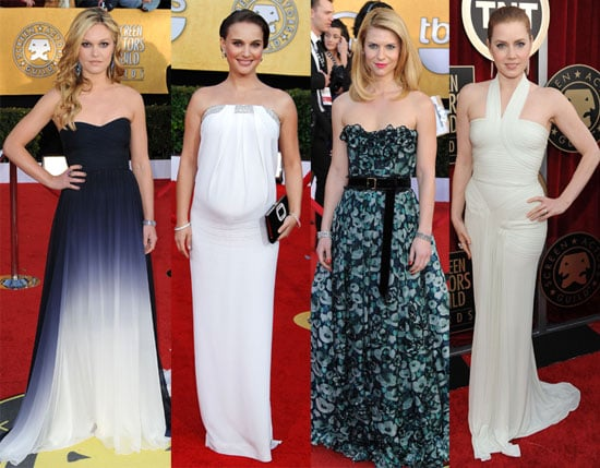 Pictures of Celebrities on SAG Awards Red Carpet