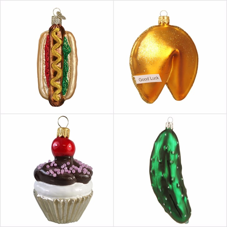 Food Ornaments Christmas