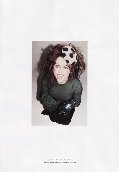 Helena Bonham Carter for Marc Jacobs Fall 2011 Ad Campaign Images